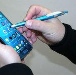 Slimline Stylus Plastic Pen demo