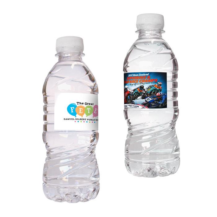 Bottled Water Custom Label - 350ml