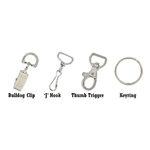 Lanyard clips