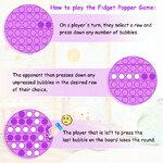 Fidget Pop Toy - How to Play