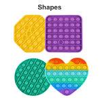 Fidget Pop Shapes