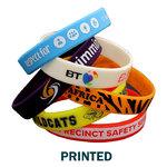 Silicone Wristband Printed